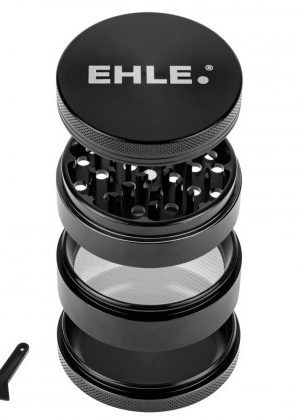EHLE. Medium Metal Grinder | 4-Part