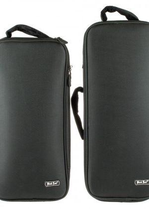 Black Leaf  Padded Bong Case | Black