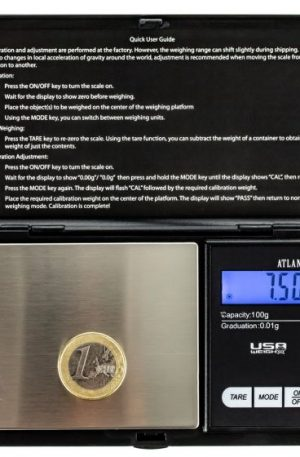 USA Weigh Atlanta Professional Digital Pocket Scale