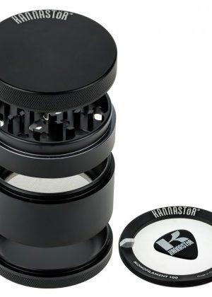 Kannastör 2.5 inch Aluminium 4-part Grinder | Black