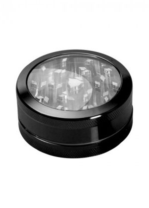 Aluminum Window Herb Grinder – 2-part – Choice of 9 colors