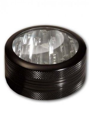 SharpStone Aluminum Window Herb Grinder | 2-part | 52mm