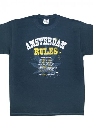 """Amsterdam Rules"" T-shirt"