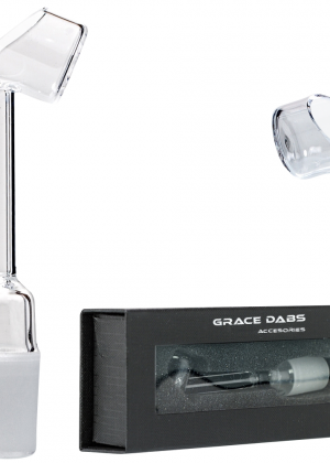 Grace Glass – Bucket Top Quartz Nail for Oils and Concentrates – Male joint – 18.8mm