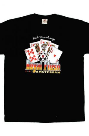 Royal Flush – Amsterdam T-shirt