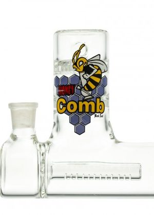 Black Leaf HoneyComb Precooler with Inline Perc and 90 Degree Joint
