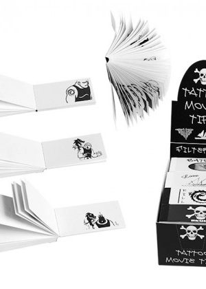 Tattoo Movie Tips – Paper Filter Tips – Box of 20 Packs