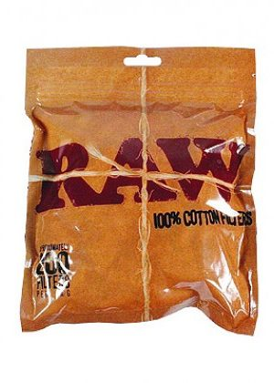 RAW – Cotton Filter Tips – Bag of 200