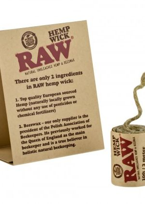 Raw Hemp Wick | 10ft