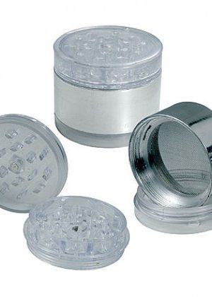 Plastic Grinder with Screen
