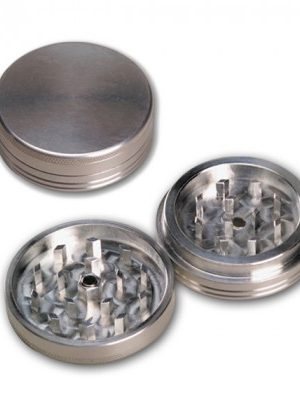 Aluminum Herb Grinder 55mm – 2-part