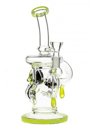 Glasscity Limited Edition Recycler Bubbler with Inline Diffuser