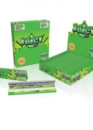 Juicy Jay's Green Apple King Size Rolling Papers – Single Pack