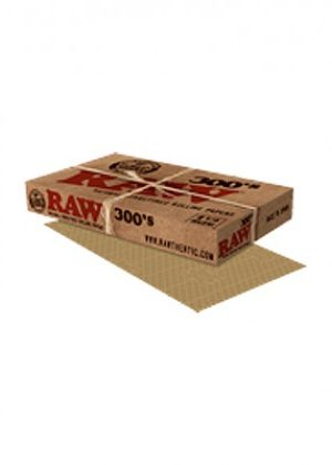 RAW Natural 300's – Regular Size Hemp Rolling Papers – Single Pack