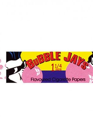 Juicy Jay's Bubble Gum Regular Size Rolling Papers – Box of 24 Packs