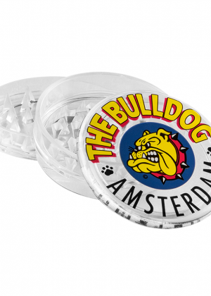 The Bulldog Plastic Grinder | Clear