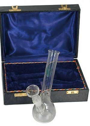 Mini Bubble Base Glass Bong in Box