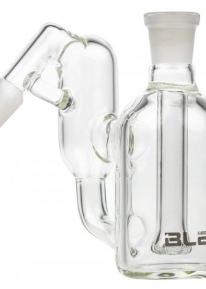 Blaze Glass Recycler Precooler with Showerhead Diffuser | 45 Degree Joint | 14.5mm