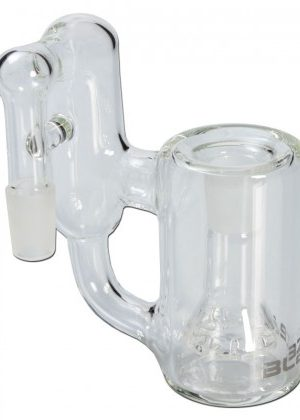 Blaze Glass – Recycler Precooler with 10-slit Diffuser – 90 Degree Joint – 14.5mm