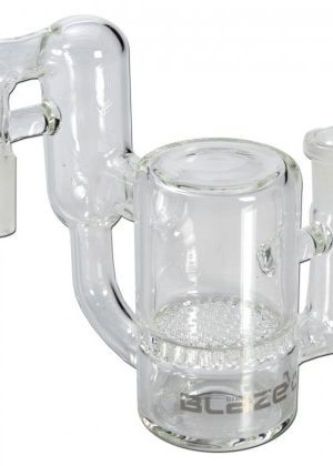 Blaze Glass – Recycler Precooler with HoneyComb Disc – 90 Degree Joint – 14.5mm