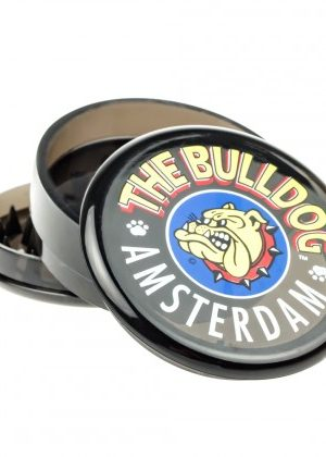 The Bulldog Plastic Grinder | Transparent Black