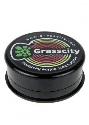 Grasscity Plastic Magnetic 3-Part Herb Grinder