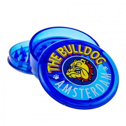 The Bulldog Plastic Grinder | Transparent Blue