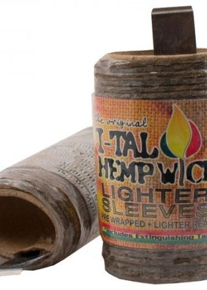 I-Tal The Original Hemp Wick Lighter Sleeve | 15.5 ft