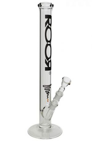 ROOR 5.0mm Black Logo Bong | 45cm