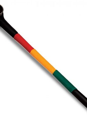 Big Jamaica Rasta Colors Pipe
