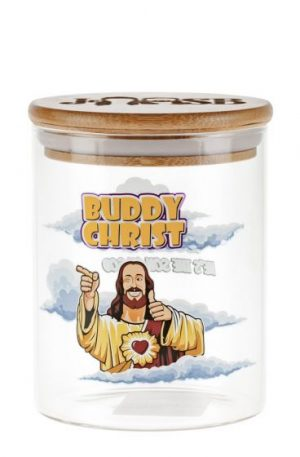 Jay and Silent Bob Glass Stash Jar | Buddy Christ