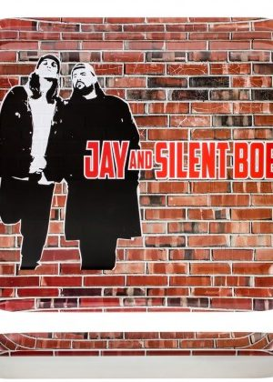 Jay and Silent Bob Rolling Tray | Large | Brick Wall