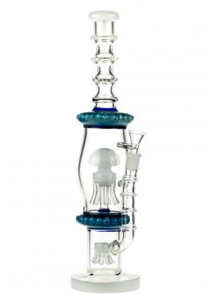 Glasscity Jellyfish Bong with Double Sprinkler Perc – SALE – 40% OFF