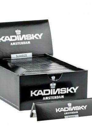 Kadinsky Amsterdam Slimsize Rolling Papers | Box of 50 Packs