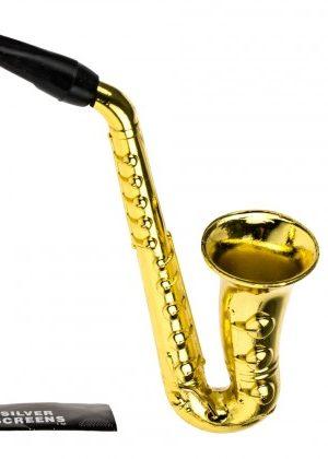 Metal Saxophone Hand Pipe