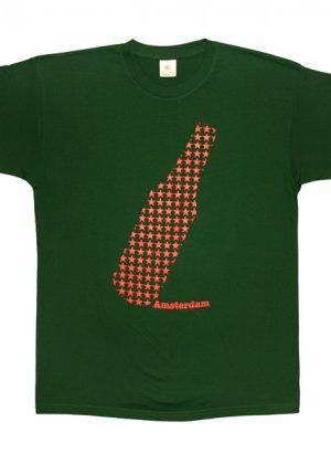 Starry Beer Bottle Amsterdam T-shirt