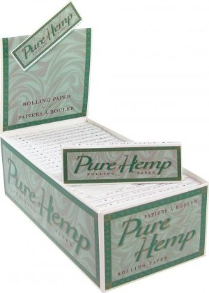 Pure Hemp – Standard Singlewide Rolling Papers – Single Pack