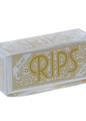 RIPS Hemp Slim 1 1/4 Size Rolling Paper Rolls – Single Pack