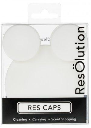 Resölution Res Caps® Bong Cleaning Caps | White