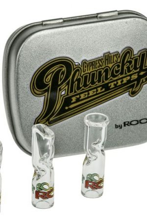 Cypress Hill's Phuncky Feel Glass Filter Tips by ROOR – Set of 3