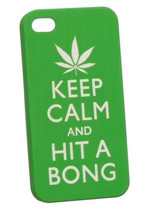 Keep Calm and Hit a Bong – Hard Case for iPhone 5 – END OF LINE PRICE