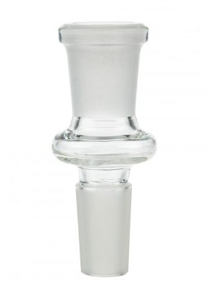 Clear Glass Adapter | Male 14.5mm > Female 14.5mm