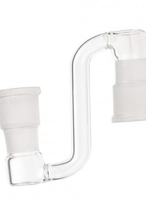 Glass 2 In 1 Drop Down Adapter | Female to Female