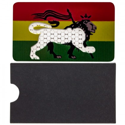 Colored Stainless Steel Herb Grater | Rasta Lion