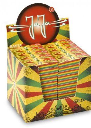 JaJa Rasta Colored Paper Filter Tips – Box of 100 Packs