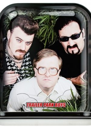 Trailer Park Boys Rolling Tray | Large | Bundled