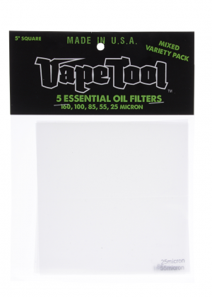 Vape Tool – Essential Oil Filters – Variety 5-pack