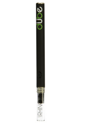 White Rhino Disposable Dube Air Waxy Vaporizer Pen | Black