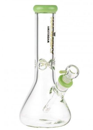 Kadinsky Amsterdam Glass Beaker Base Ice Bong | 7mm | Slyme Green