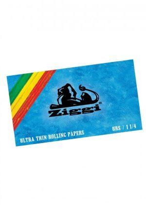Ziggi – Regular Size Slim Rolling Papers Plus Filter Tips – Box of 6 Packs